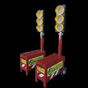 Alquiler semáforo portátil
