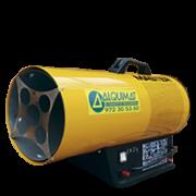 Calefactor gas, cañón calor